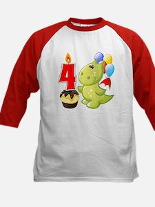Fourth Birthday Dragon Tee