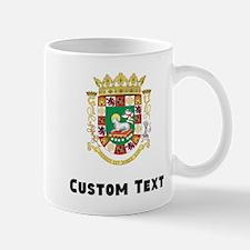 Puerto Rico Coat Of Arms Mugs