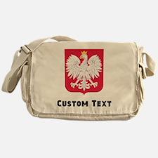 Poland Coat Of Arms Messenger Bag