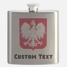 Poland Coat Of Arms Flask