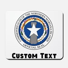Northern Mariana Islands Coat Of Arms Mousepad