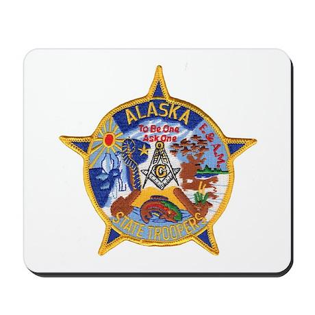 Alaska Trooper Masons Mousepad