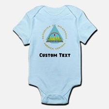 Nicaragua Coat Of Arms Body Suit