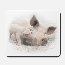 Pig Happy Mousepad