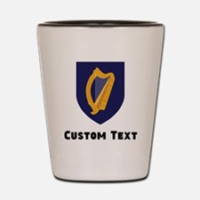 Ireland Coat Of Arms Shot Glass