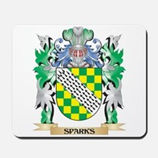 Sparks Coat of Arms - Family Crest Mousepad