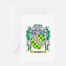 Sparks Coat of Arms - Family Crest Greeting Cards