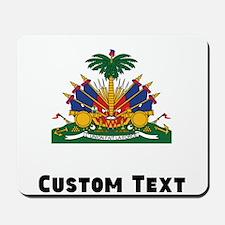 Haiti Coat Of Arms Mousepad