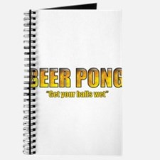 I love beer pong Journal