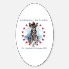 Funny Kerry blue terrier Decal