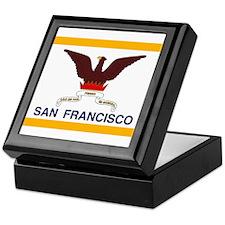 San Francisco Flag Keepsake Box