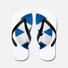 Yes to Independent Scotland 'Saor Alba Flip Flops