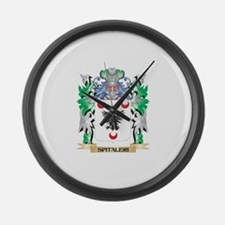 Spitaleri Coat of Arms - Family C Large Wall Clock