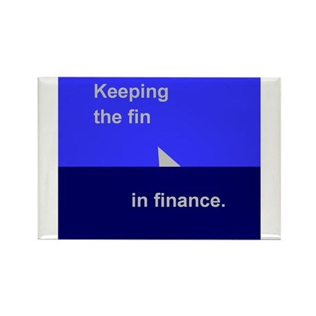 Finance 1 Rectangle Magnet (10 pack)