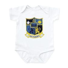 USS MANLEY Infant Bodysuit