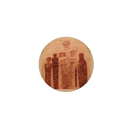 Great Gallery Pictographs Mini Button