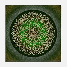 Sage Celtic Burst Tile Coaster