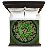 Celtic Luxe King Duvet Cover