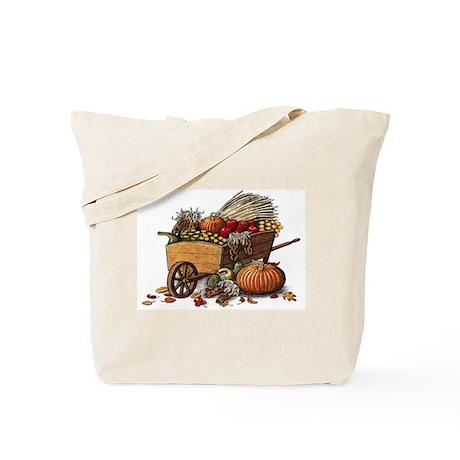 Wheelbarrow Double Sided Tote Bag