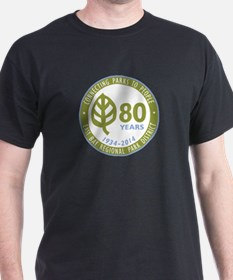 East Bay Regional Park District 80th Anniversary T