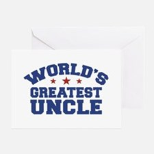 World's Greatest Uncle Greeting Cards