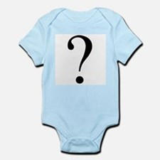 Question mark baby gender Body Suit