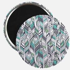 Boho Feathers Magnets