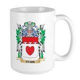 Family crest of starr in Large Mugs (15 oz)