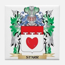 Starr Coat of Arms - Family Crest Tile Coaster