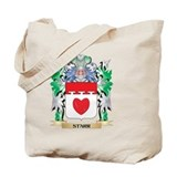 Starr family crest Canvas Totes