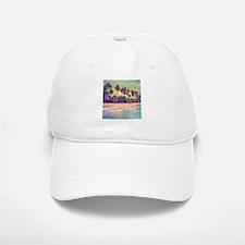 Tropical Island Baseball Baseball Baseball Cap