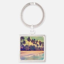 Tropical Island Keychains