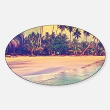 Tropical Island Decal