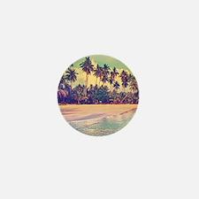 Tropical Island Mini Button (10 pack)