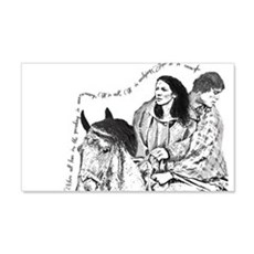 Jamie & Claire Sketch Quotes Wall Decal