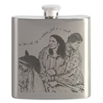 Jamie & Claire Sketch Quotes Design Flask