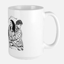 Jamie & Claire Sketch Quotes Design Mugs