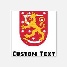 Finland Coat Of Arms Sticker