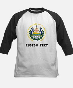 El Salvador Coat Of Arms Baseball Jersey
