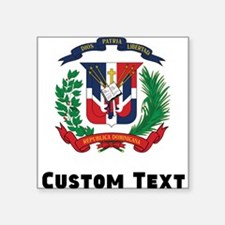 Dominican Republic Coat Of Arms Sticker