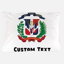 Dominican Republic Coat Of Arms Pillow Case
