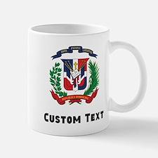 Dominican Republic Coat Of Arms Mugs