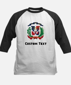 Dominican Republic Coat Of Arms Baseball Jersey