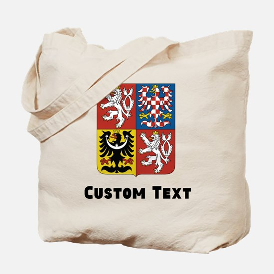 Czech Republic Coat Of Arms Tote Bag