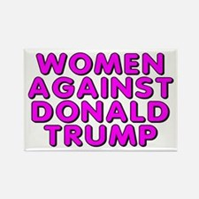 Women against Trump - Rectangle Magnet