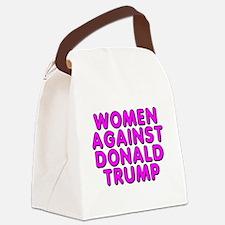 Women against Trump - Canvas Lunch Bag