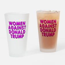Women against Trump - Drinking Glass