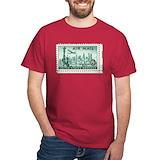 Postage stamp Dark T-Shirt