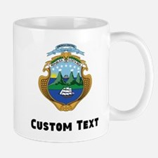 Costa Rica Coat Of Arms Mugs