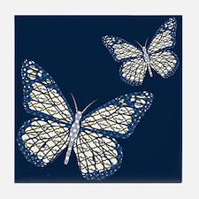 Jewish Monarch Tile Coaster